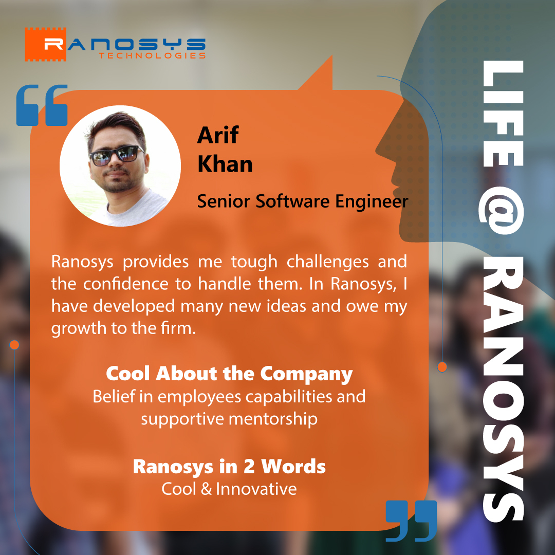 Employee Speak - Arif Khan