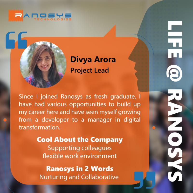 Employee Speak - Divya Arora
