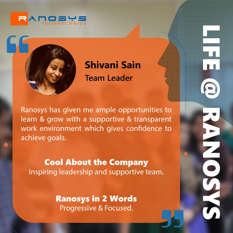 Employee Speak - Shivani