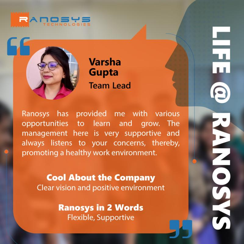 Employee Speak - Varsha