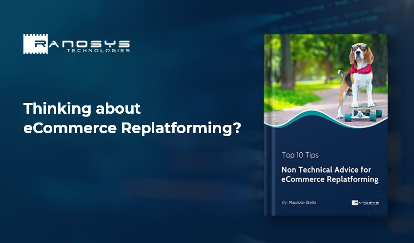 eCommerce re-platforming eBook